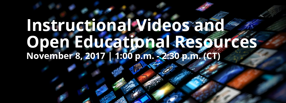 Instructional Videos and Open Educational Resources